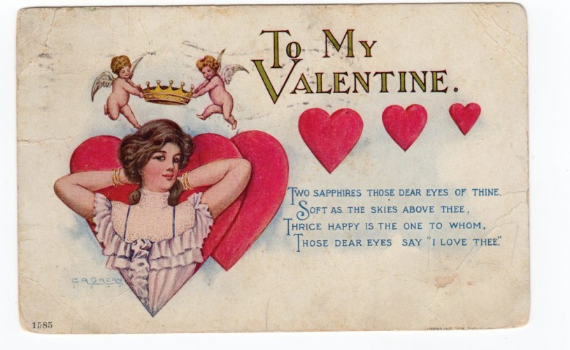 Inima și iubirea de Sfântul Valentin. Aventurile unui simbol