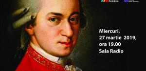 100% MOZART – concert dedicat lui Amadeus la Sala Radio