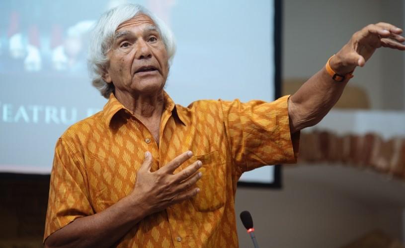 Eugenio Barba transmite mesajul de Ziua Mondială a Teatrului, din partea FITS