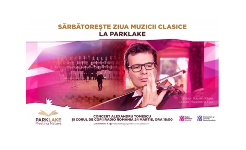 Alexandru Tomescu și Corul de copii Radio România, în concert aniversar la Sala Radio