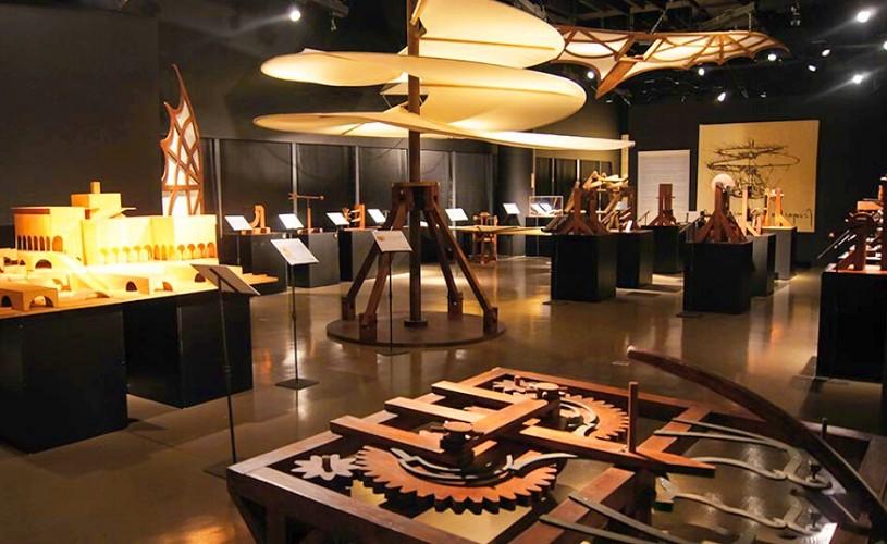 O mare expoziţie despre Leonardo Da Vinci – geniul ştiinţific, prezentată la Roma