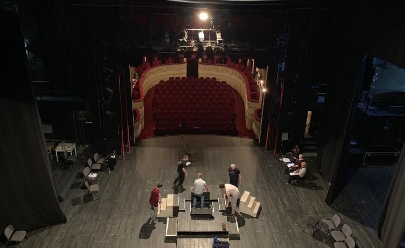 Acces liber în culisele Sălii Majestic de la Odeon de Ziua Mondială a Teatrului
