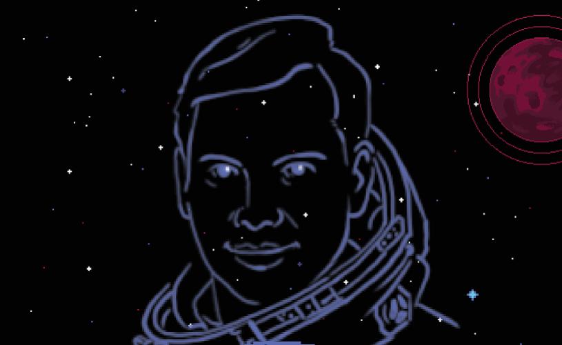 Docu-serie animatădespre Dumitru Prunariu, singurul astronaut român
