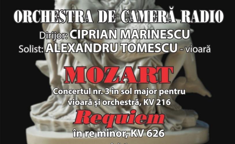 Înconjurat de legendă, celebrul RECVIEM de MOZART pe scena Sălii Radio