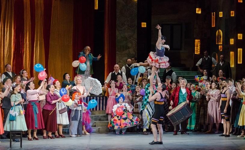 """""""Cavalleria Rusticana & Pagliacci"""", în regia lui Ion Caramitru, pe scena Operei Naționale București"""