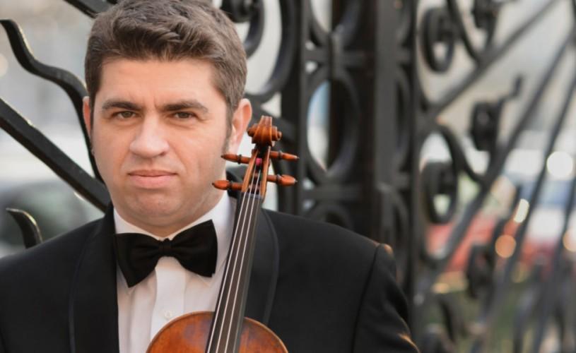 Un muzician al superlativelor:violonistul REMUS AZOIȚEI la Sala Radio