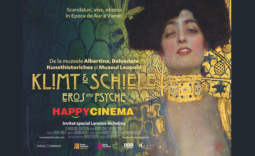 Klimt & Schiele – Eros și Psyche, la Happy Cinema din 19 aprilie