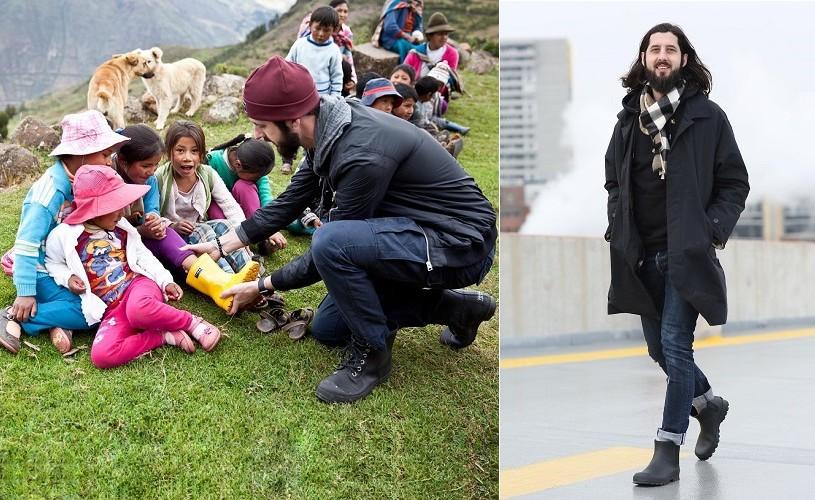 """SAMUEL BISTRIAN, omul care încalță copiii săraci ai lumii: """"Am realizat, încă de la o vârstă fragedă, că viața mea are un scop."""""""