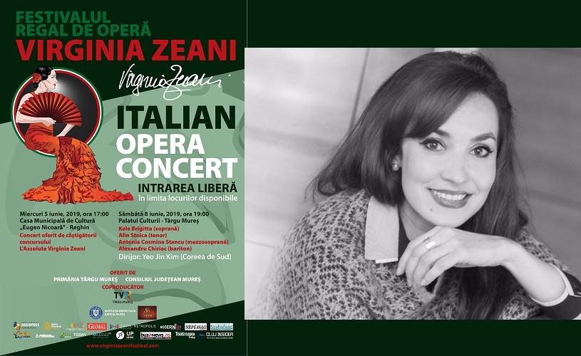 """Soprana Brigitta Kele, în concert extraordinar la Reghin. Festivalul Regal de Operă """"Virginia Zeani"""""""