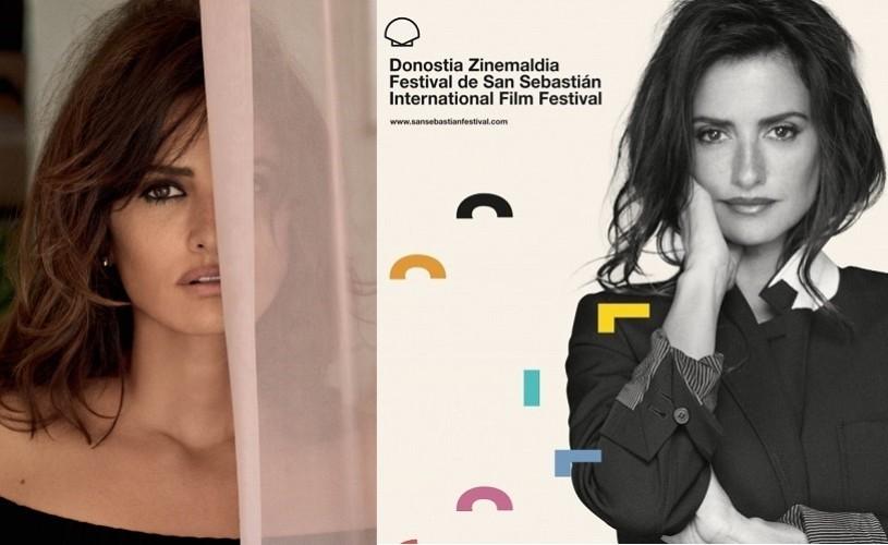 Penélope Cruz, trofeul onorific la Festivalul de Film de la San Sebastian