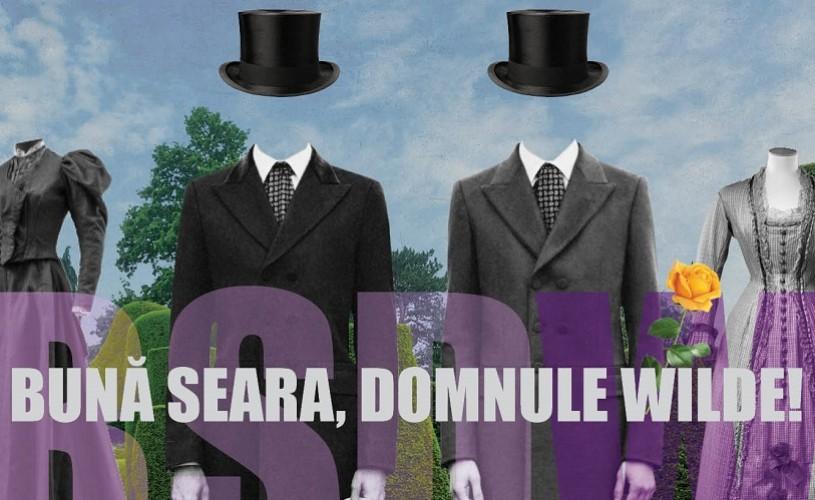 PREMIERĂ / Bună seara, domnule Wilde! 28, 29, 30 iunie, Teatrul Evreiesc de Stat