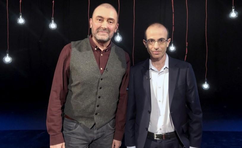 Yuval Noah Harari este invitatul lui Cătălin Ştefănescu în studioul Garantat 100%
