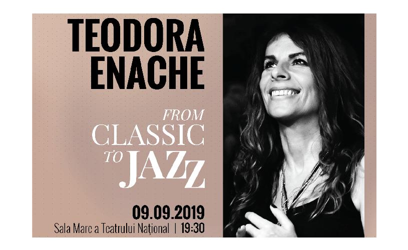 Concert inedit cu Rapsodiile enesciene interpretate vocal în premieră de Teodora Enache, la TNB