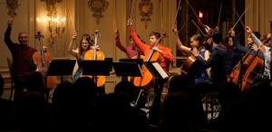 Marin Cazacu şi Violoncelissimo concertează în Sala Filarmonicii din Luxemburg pe 28 iunie