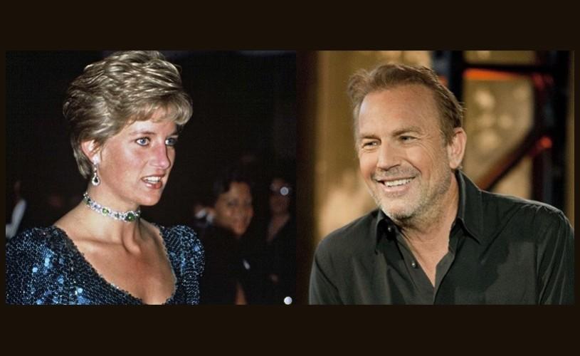 """Prinţesa Diana urma să joace în continuarea filmului """"The Bodyguard"""" alături de Kevin Costner"""