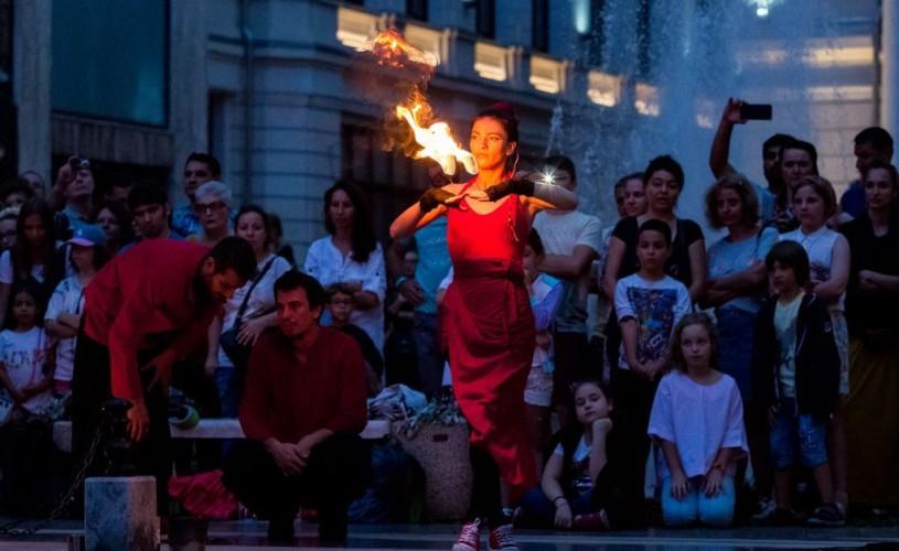 Începe Festivalul Internațional de Teatru de Stradă București – B-FIT in the Street!