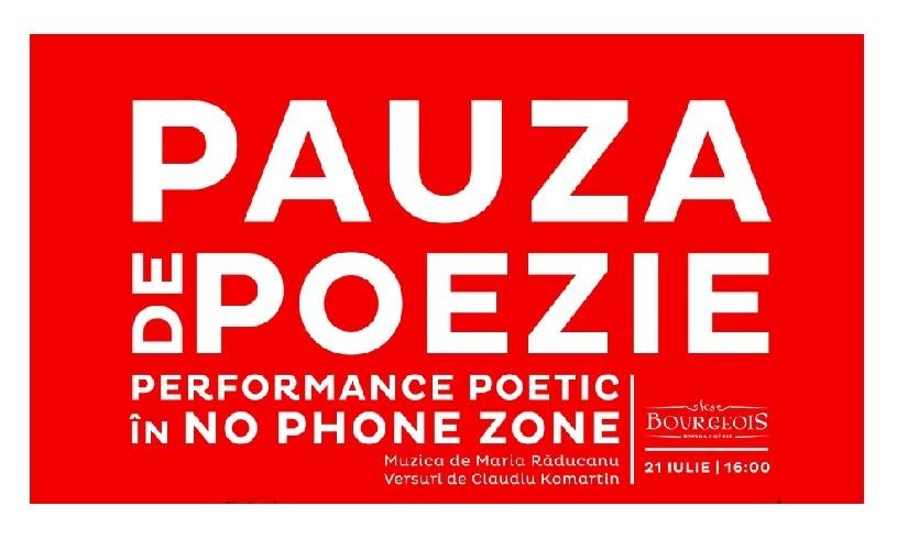 Performance inedit de poezie și jazz, cu Claudiu Komartin și Maria Răducanu
