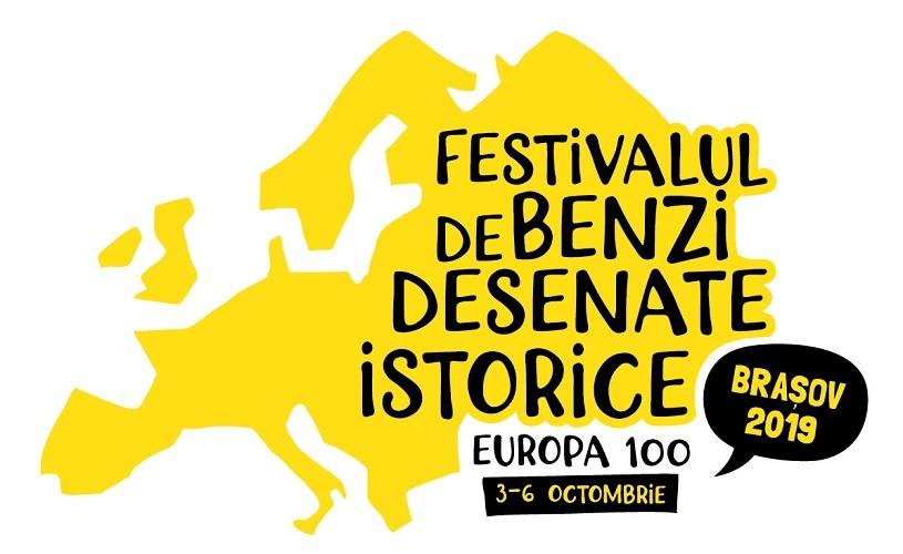 EUROPA 100 în BENZI DESENATE. Festivalul de Benzi Desenate Istorice Brașov