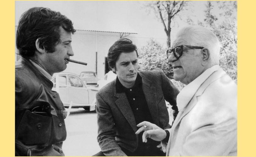 Undeva, cândva… Jean Gabin, Alain Delon & Jean-Paul Belmondo