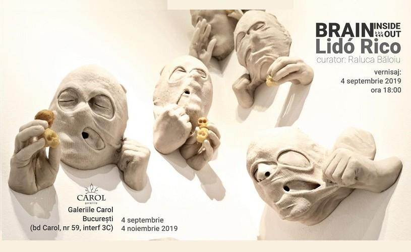 Sculptorul spaniol Lidó Rico vine în premieră la București