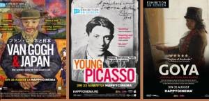 Van Gogh, Picasso și Goya pe marele ecran!