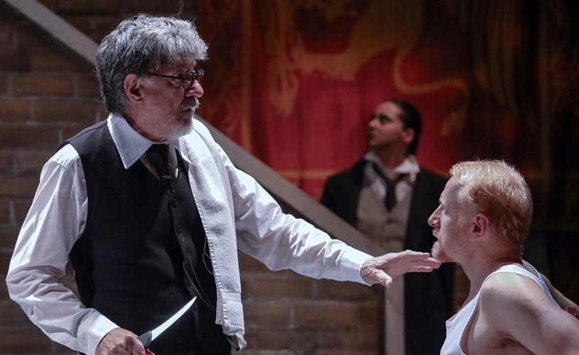 Un nou spectacol de Alexander Morfov la TNB: Neguțătorul din Veneția!