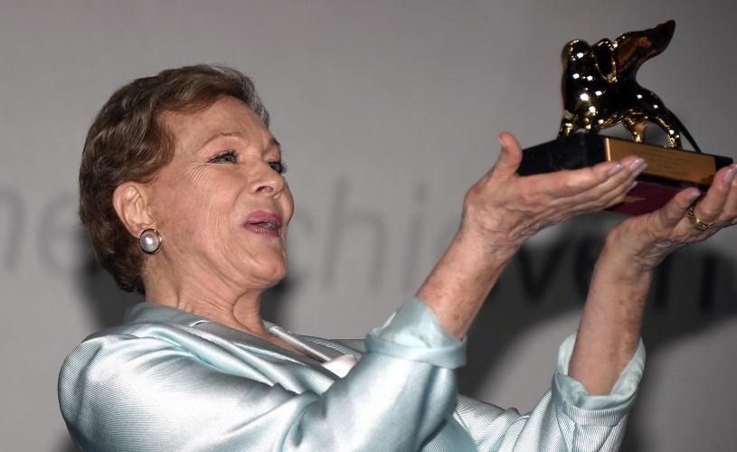 Julie Andrews, Leul de Aur pentru întreaga carieră la Veneția