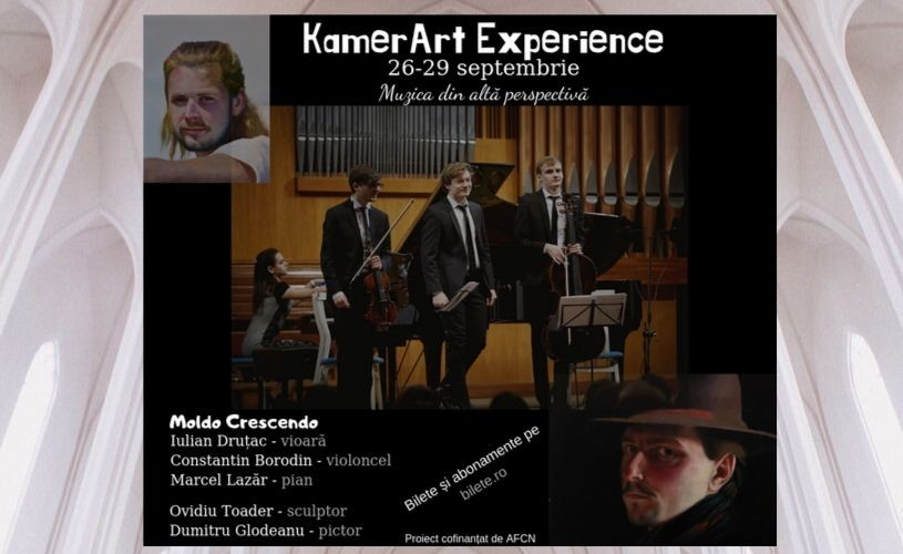 S-au pus în vânzare biletele și abonamentele pentru Festivalul KamerArt Experience!