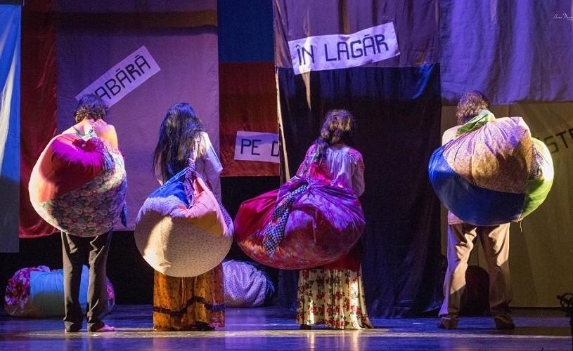 Teatru rom la Teatrul Evreiesc de Stat din București