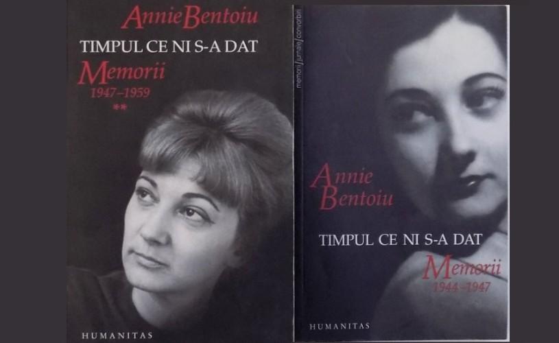 "Despre Annie Bentoiu și ""Timpul ce ni s-a dat. 1944-1959"" – Librăria Humanitas de la Cișmigiu"