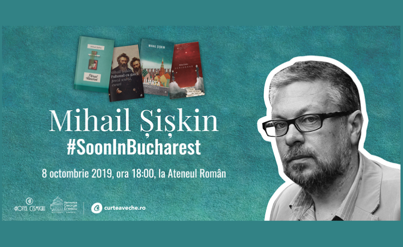 Întâlnire cu celebrul scriitor rus Mihail Șișkin, în cadrul Conferințelor de la Ateneul Român
