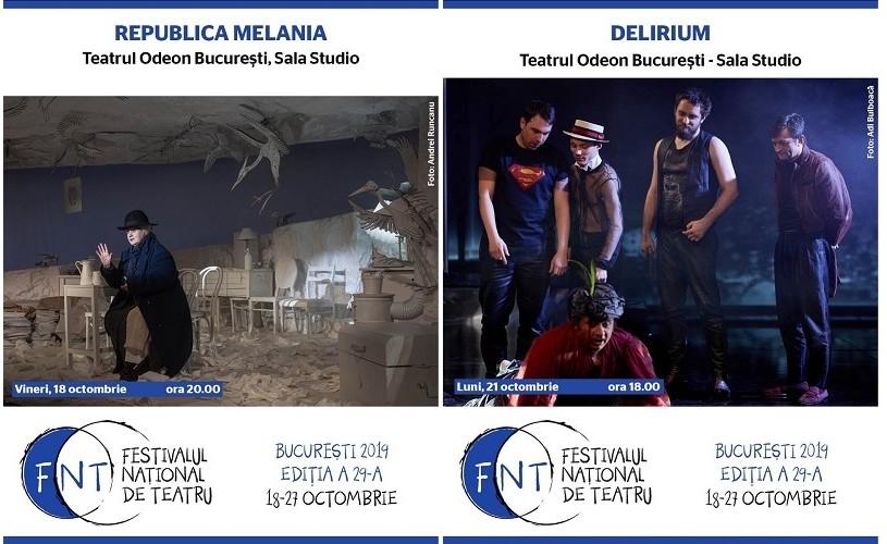 Teatrul Odeon participă cu două spectacole și o expoziție la FNT 2019