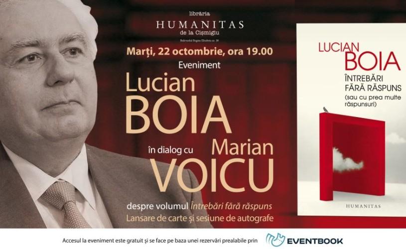 Lucian Boia în dialog cu Marin Voicu