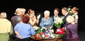 90 de ani de la nașterea actriței Olga Tudorache (1929-2017). Sala Mare a Teatrului Metropolis îi poartă numele