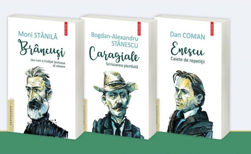 Editura Polirom lansează colecția Biografii romanțate