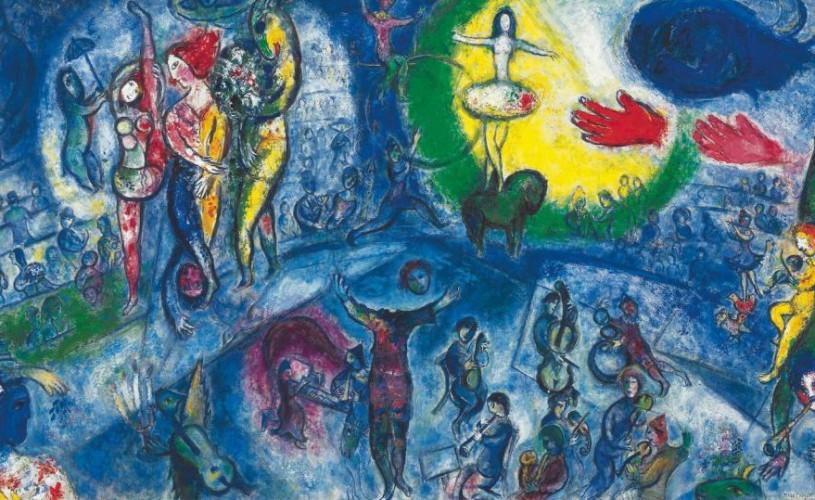 Marc Chagall, imagini în laboratorul Teatrului Evreiesc