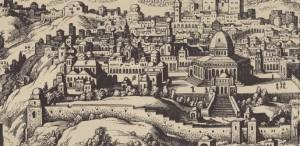 Imagini ale vechiului Ierusalim, la Muzeul Național al Hărților și Cărții Vechi