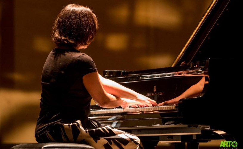 Pianista Oxana Corjos își încheie turneul la Ateneul Român