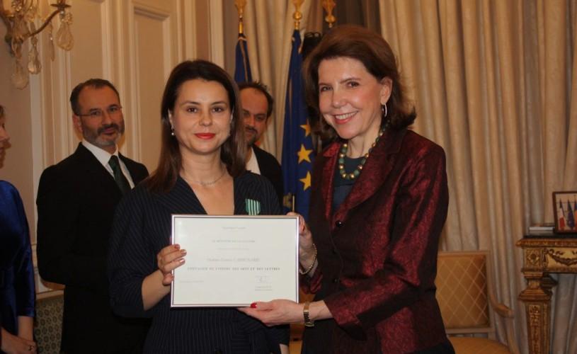 Gianina Cărbunariu, Cavaler al Ordinului Artelor și Literelor