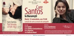 Scriitoarea Care Santos vine la București