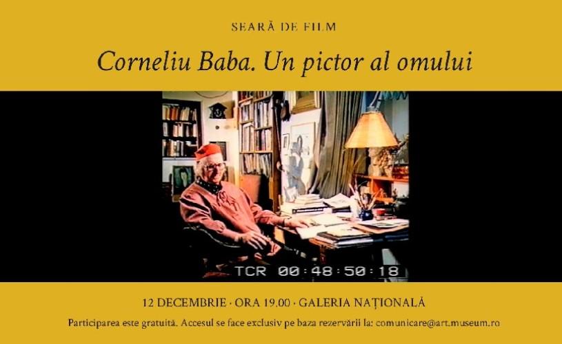 Seară de film la MNAR! Corneliu Baba. Un pictor al omului