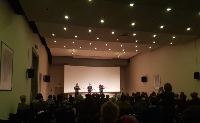 CORESPONDENȚĂ DE LA BRUXELLES. O după-amiază cu poezia lui Gherasim Luca, la Europalia