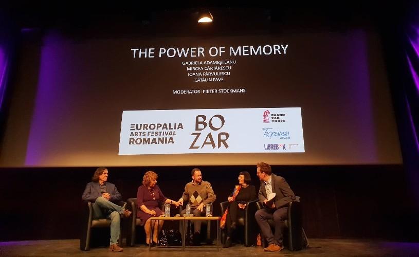 Despre puterea memoriei, cu scriitorii Gabriela Adameșteanu, Mircea Cărtărescu, Cătălin Pavel și Ioana Pârvulescu