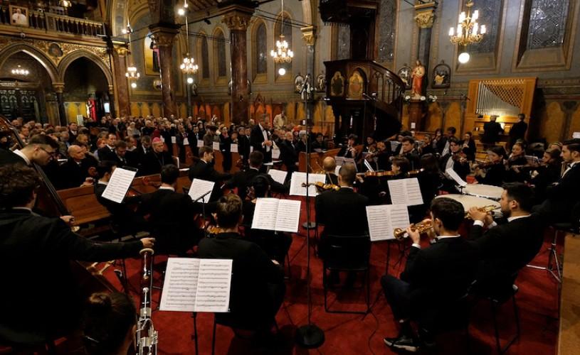 Orchestra Română de Tineret, la Catedrala Sf. Iosif, pe 5 decembrie