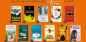 Ce cărți au cumpărat românii de la Humanitas în 2019