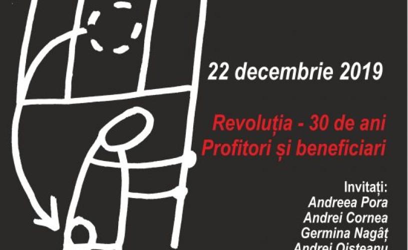 Profitori și beneficiari ai Revoluției, la TNB