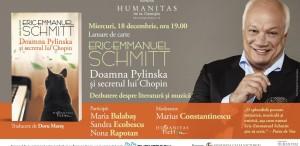 """""""Doamna Pylinska și secretul lui Chopin"""", lansare la Humanitas Cișmigiu"""