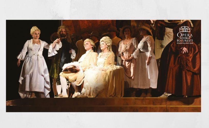 """""""Nunta lui Figaro"""", pe scena Operei Naționale București"""