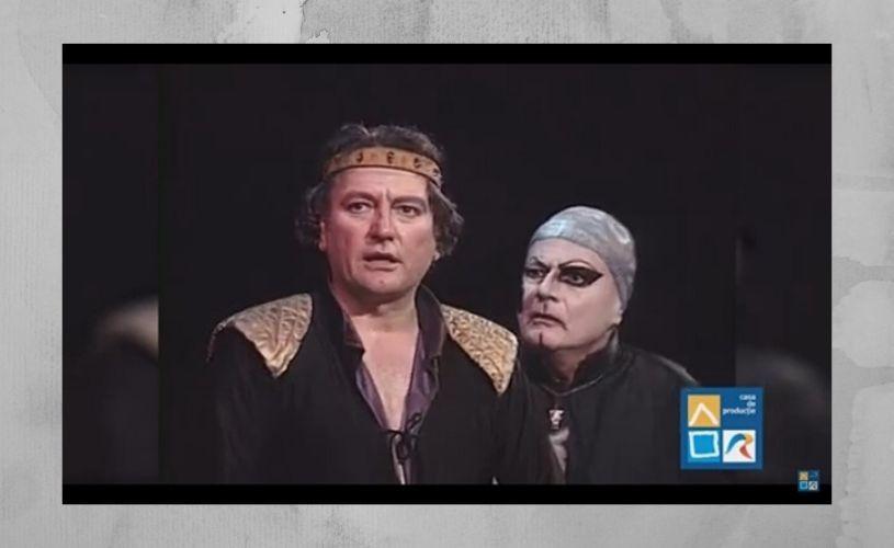 """""""Caligula"""", cu Ovidiu Iuliu Moldovan, în regia lui Horea Popescu, la TVR"""