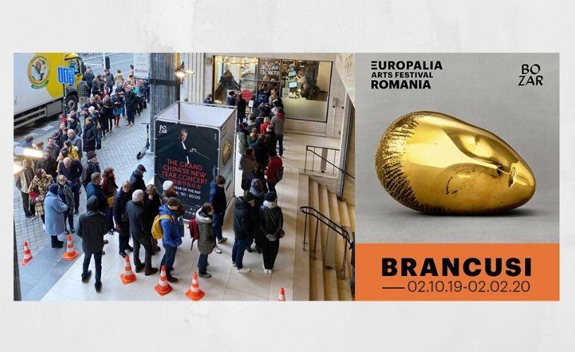 """RECORD. Expoziția """"Brâncuşi. Sublimarea formei"""", văzută de 85.000 de vizitatori la Bruxelles"""